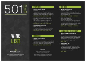 Wine Bar 501